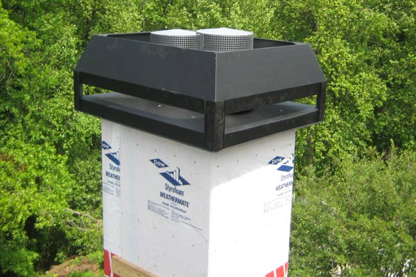Fabrication Of Custom Made Chimney Covers In Atlanta For